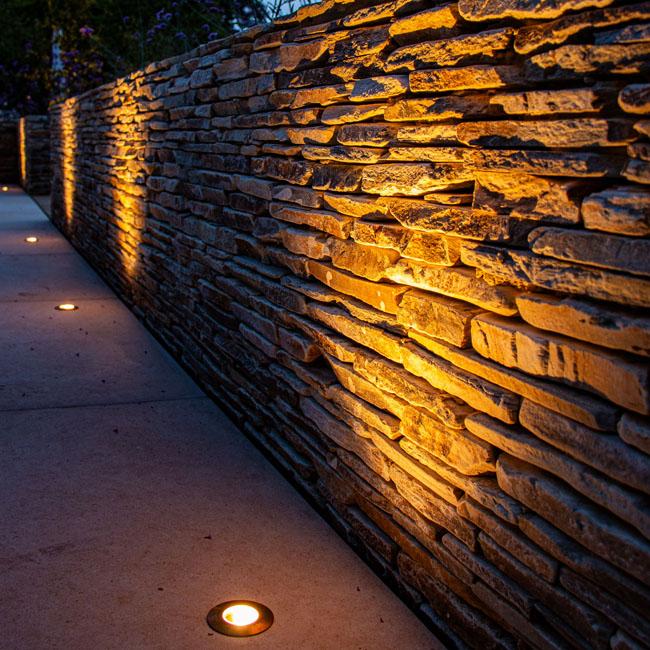 wall-wash-lights-textured-surface
